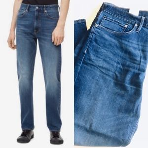 Calvin Klein 38/32 Relaxed Straight Jeans Pickwick